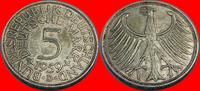 5 DM 1959 D BRD (19/JAUL) BRD 5 DM J. 387 Adler 1959 D sehr schön  8,00 EUR  zzgl. 5,00 EUR Versand