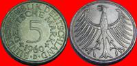 5 DM 1960 D BRD (22/JAUL) BRD 5 DM J. 387 Adler 1960 D besser als sehr ... 7,00 EUR  zzgl. 5,00 EUR Versand
