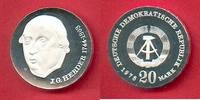 20 Mark 1978 DDR Herder  Silber, encapsuled Polierte Platte offen, Proo... 71,00 EUR  +  6,00 EUR shipping