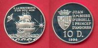 10 Diners 1994 Andorra Niederländische Fleute, Seefahrt Polierte Platte... 19,50 EUR