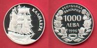 1000 Lewa 1996 Bulgarien Barkentine Kaliakra, Seefahrt Polierte Platte ... 19,00 EUR