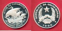 50.000 Pesos 1996 Guinea-Bissau Segler, Seefahrt Polierte Platte Proof PP  31,00 EUR  zzgl. 5,00 EUR Versand