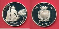 5 Pfund 1994 Malta Valletta, Seefahrt Polierte Platte Proof PP  25,00 EUR  +  5,00 EUR shipping