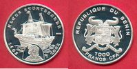 1000 Francs CFA 2002 Benin Klaus Störtebeker, Seefahrt Polierte Platte ... 20,00 EUR  zzgl. 5,00 EUR Versand