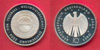 BRD 10 Euro 2006 Polierte Platte Proof PP Fussball-WM  Brandenburger Tor... 17,99 EUR