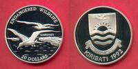 20 Dollar 1992 Kiribati Fregattvogel, Tierwelt, WWF, Endangered Wildlif... 23,00 EUR  zzgl. 5,00 EUR Versand
