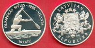 10 Latu 1994 Lettland Olympiade 1996 Atlanta, Kanu, Einer-Kanadier Poli... 25,00 EUR  zzgl. 5,00 EUR Versand