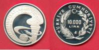 10.000 Lira 1988 Türkei Olympiade Seoul, Fackel Seoul Polierte Platte P... 13,00 EUR  zzgl. 5,00 EUR Versand