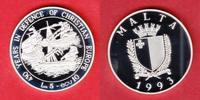 5 Pfund / 10 Ecus 1993 Malta Seemacht Malta, Seefahrt Polierte Platte P... 23,00 EUR