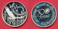 500 Forint 1988 Ungarn Rotfußfalke, Tierwelt, WWF, Endangered Wildlife ... 19,50 EUR  zzgl. 5,00 EUR Versand