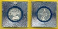 10 Mark 1982 DDR Gewandhaus Leipzig Silber Polierte Platte plombiert, P... 43,00 EUR  zzgl. 5,00 EUR Versand