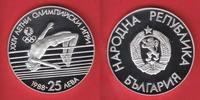 25 Lewa 1988 Bulgarien Hochsprung - Olympiade 1988 Seoul Polierte Platt... 13,00 EUR  zzgl. 5,00 EUR Versand