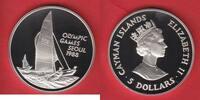5 Dollar 1987 Cayman Islands Segeln - Olympiade 1988 Seoul Polierte Pla... 15,70 EUR