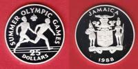 25 Dollar 1988 Jamaika Staffellauf - Olympiade 1988 Seoul Polierte Plat... 13,00 EUR  zzgl. 5,00 EUR Versand