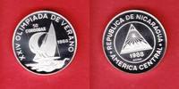 50 Cordobas 1988 Nicaragua Segelregatta - Olympiade 1988 Seoul Polierte... 10,00 EUR  zzgl. 5,00 EUR Versand