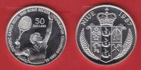 50 Dollar 1987 Niue Tennis Boris Becker - Olympiade 1988 Seoul Polierte... 15,00 EUR  zzgl. 5,00 EUR Versand