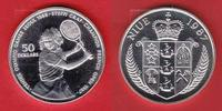 50 Dollar 1987 Niue Tennis Steffi Graf Return - Olympiade 1988 Seoul Po... 15,00 EUR  zzgl. 5,00 EUR Versand