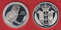 50 Dollar 1989 Niue Tennis Steffi Graf Olympiasiegerin - Olympiade 1988... 15,00 EUR  zzgl. 5,00 EUR Versand