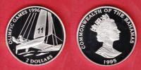2 Dollar 1995 Bahamas Katamaran - Olympiade Atlanta 1996 Polierte Platt... 17,00 EUR  +  5,00 EUR shipping