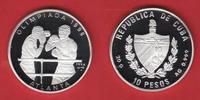 10 Pesos 1994 Kuba Boxen - Olympiade Atlanta 1996 Polierte Platte Proof... 14,00 EUR  zzgl. 5,00 EUR Versand