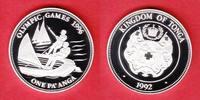 1 Pa´anga 1992 Tonga Segeln - Olympiade Atlanta 1996 Polierte Platte Pr... 17,00 EUR  zzgl. 5,00 EUR Versand