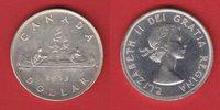 1 Dollar 1953 Kanada Elisabeth, Kanu bankfrisch, unc.  21,00 EUR  zzgl. 5,00 EUR Versand