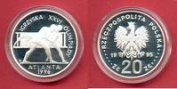 20 Zloty 1995 Polen Ringer,Olympiade 1996 Atlanta Polierte Platte Proof... 45,00 EUR  zzgl. 5,00 EUR Versand