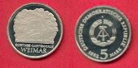 5 Mark 1982 DDR Goethes Gartenhaus Polierte Platte offen, Proof PP  30,00 EUR  zzgl. 5,00 EUR Versand