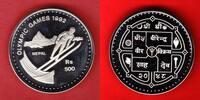 500 Rupees 1992 Nepal Olympiade 1992 Albertville, Skispringen Polierte ... 16,00 EUR