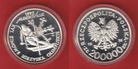 20.000 Zloty 1991 Polen Olympiade 1992 Albertville, Abfahrtslauf Polier... 25,20 EUR  zzgl. 5,00 EUR Versand