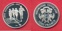 1000 Francs 2003 Togo Olympiade 2004 Athen, Marathonlauf Polierte Platt... 20,00 EUR