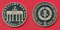5 Mark 1987 DDR Brandenburger Tor 1987 Polierte Platte offen, Proof PP  27,00 EUR  +  5,00 EUR shipping