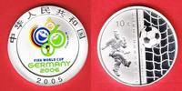 10 Yuan 2005 China Ball im Tor (FARBE) - Fußball WM 2006 Deutschland Po... 35,20 EUR  zzgl. 5,00 EUR Versand