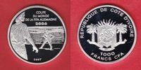 1000 CFA 2007 Elfenbeinküste World Soccer Games 2006 Polierte Platte Pr... 24,00 EUR  +  5,00 EUR shipping