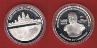 3.000 Riels 2004 Kambodscha World Soccer Games 2006 Polierte Platte Pro... 25,00 EUR  +  5,00 EUR shipping