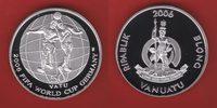 50 Vatu 2006 Vanuatu Kopfballduell - Fußball WM 2006 Deutschland Polier... 25,20 EUR  zzgl. 5,00 EUR Versand
