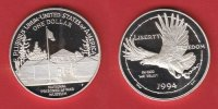 1 Dollar 1994 USA National Prisoner of War Museum Polierte Platte Proof... 30,00 EUR  +  5,00 EUR shipping