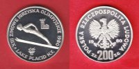 Polen 200 Zloty 1980 Polierte Platte Proof...