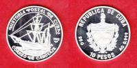 10 Pesos 1992 Kuba Postschiff,Raddampfer Colon, Seefahrt Polierte Platt... 16,50 EUR
