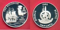 50 Vatu 1992 Vanuatu La Boudeuse, Seefahrt Polierte Platte Proof PP  21,00 EUR