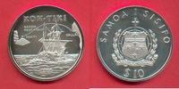 10 Tala 1988 Westsamoa Kon-Tiki, Seefahrt Polierte Platte Proof PP  23,00 EUR  zzgl. 5,00 EUR Versand