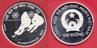 100 Dong 1990 Vietnam Olympiade 1992 Albertville, Eishockey Polierte Pl... 27,00 EUR  zzgl. 5,00 EUR Versand