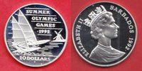 10 Dollar 1992 Barbados Olympiade 1992 Barcelona, Segeln Polierte Platt... 22,00 EUR  zzgl. 5,00 EUR Versand