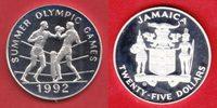 25 Dollars 1992 Jamaika Olympiade 1992 Barcelona, Boxen Polierte Platte... 21,00 EUR  zzgl. 5,00 EUR Versand