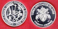 20 Crown 1992 Turks and Caicos Olympiade 1992 Barcelona, Ringeturnen-Ei... 21,00 EUR  zzgl. 5,00 EUR Versand