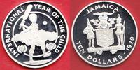 10 Dollars 1979 Jamaika UNICEF International Year of the Child - Jahr d... 13,00 EUR  zzgl. 5,00 EUR Versand