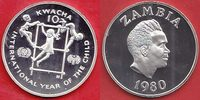 10 Kwacha 1980 Sambia UNICEF International Year of the Child - Jahr des... 16,00 EUR  zzgl. 5,00 EUR Versand
