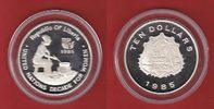 10 Dollar 1985 Liberia UN Decade for Women - Jahr der Frau Polierte Pla... 28,00 EUR  zzgl. 5,00 EUR Versand
