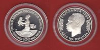 Tansania 100 Sh 1984 Polierte Platte Proof PP UN Decade for Women - Jahr... 30,00 EUR
