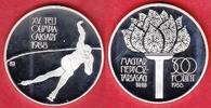 500 Forint 1987 Ungarn Olympiade 1988 Calgary,  Eisschnelllauf Polierte... 13,00 EUR
